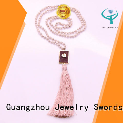 accessories designer necklaces trade partner for party TTT Jewelry