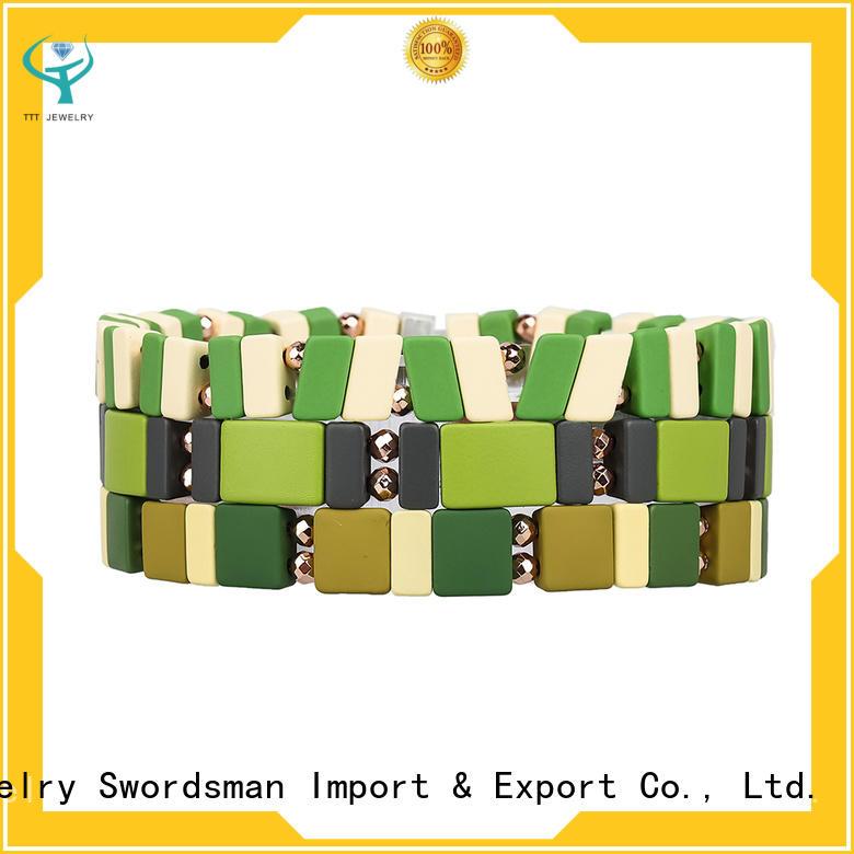 eco-friendly hermes enamel bracelet crystal wholesale for reseller