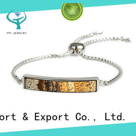 TTT Jewelry customized solid silver bangles trade partner for small business