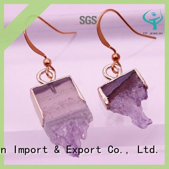 TTT Jewelry copper amethyst stone jewelry more buying choices for distribution