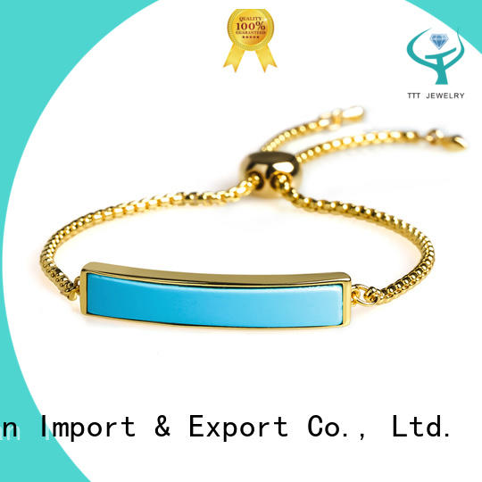 TTT Jewelry customized silver bangle bracelets manufacturer for reseller