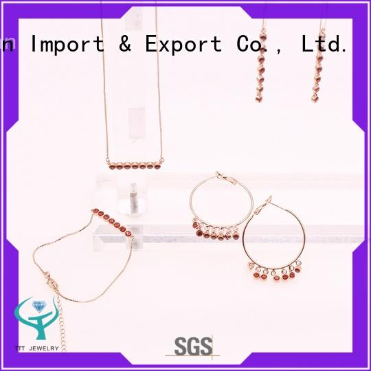 chips gemstone necklaces factory for sale TTT Jewelry