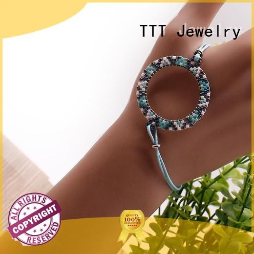 custom bracelets for her seed yellow TTT Jewelry Brand bracelet miyuki