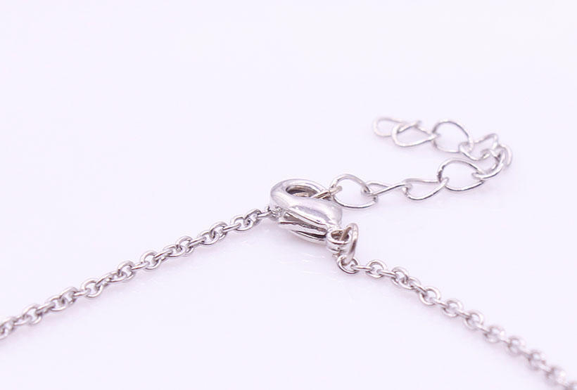 Stainless Steel Flamingo Pendant Necklace