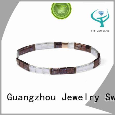 TTT Jewelry eco-friendly tile bead bracelet patterns purchase online for wedding