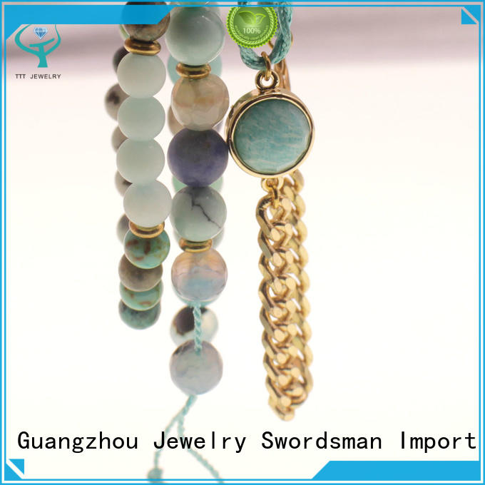 TTT Jewelry competitive price ab stone bracelet great deal for trader