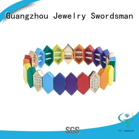 TTT Jewelry eco-friendly enamel bracelet wholesale for small business