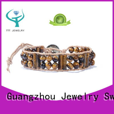 TTT Jewelry customized chakra cord bracelet awarded supplier for merchant