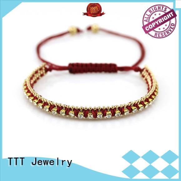 adjustable leather bracelet leather bracelets TTT Jewelry Brand company