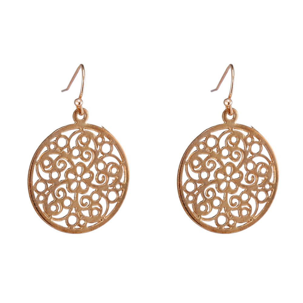new cz hoop earrings stone customized for small business-1