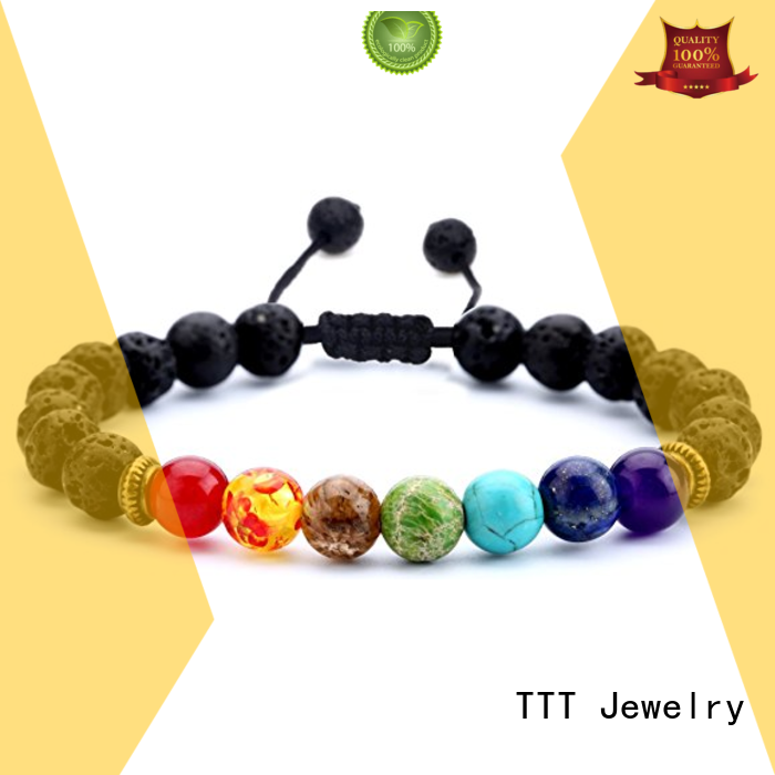 TTT Jewelry Brand bracelet mental chakra healing bracelet