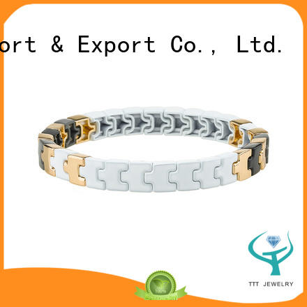 eco-friendly hermes enamel bangle black wholesale for gift