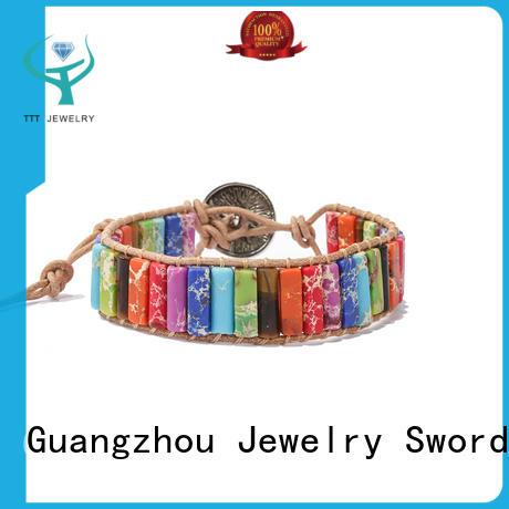eco-friendly crown chakra bracelet kid awarded supplier for merchant
