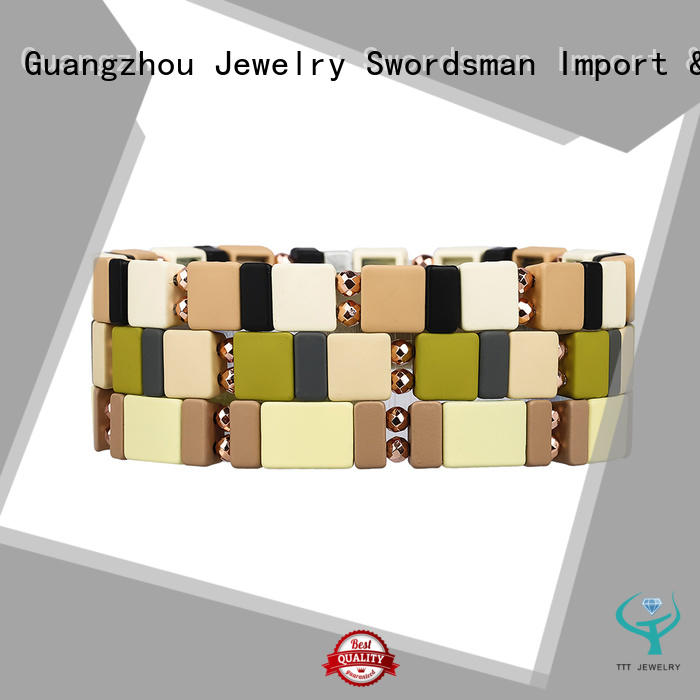 TTT Jewelry honeycomb hermes enamel bracelet wholesale for sale