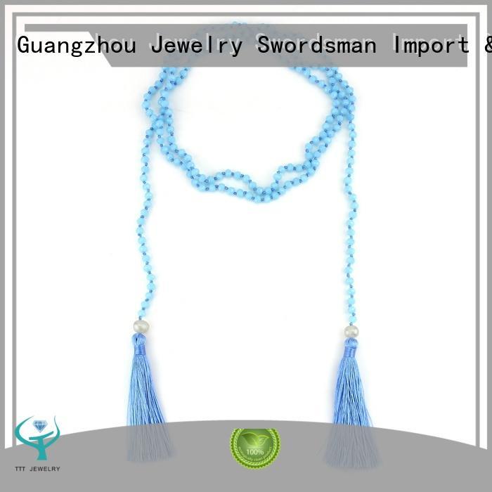 TTT Jewelry blue wrap bracelet necklace quick transaction for trader