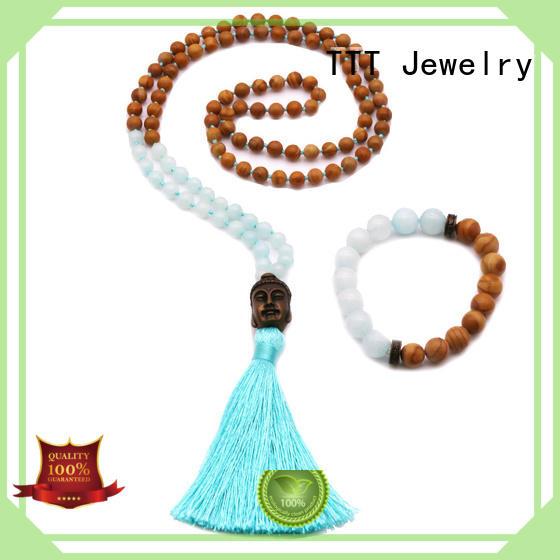 TTT Jewelry Brand accessories beads custom bridal necklace