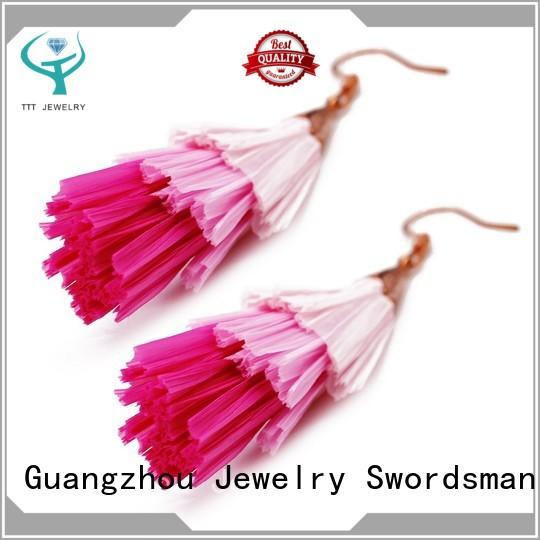 TTT Jewelry piece tassel earrings ebay solution expert for b2b