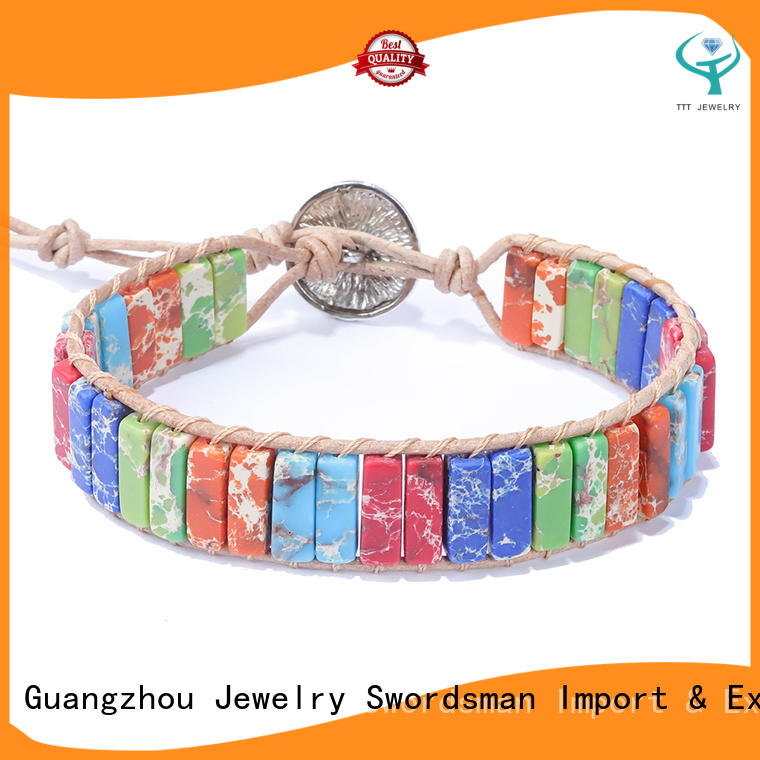 TTT Jewelry diy wearing chakra bracelet wholesaler trader for trader