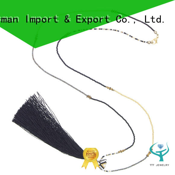 TTT Jewelry professional miyuki necklace quick transaction for distribution