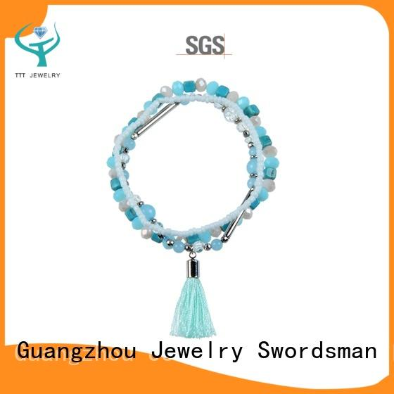 TTT Jewelry stone bracelet manufacturer for sale