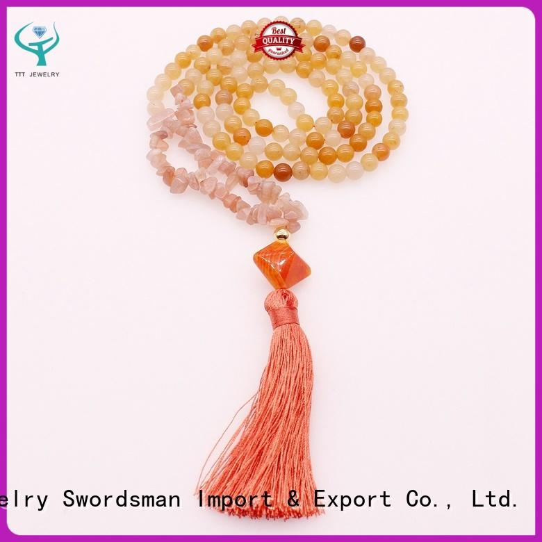TTT Jewelry aventurine gemstone necklaces trader for wholesale