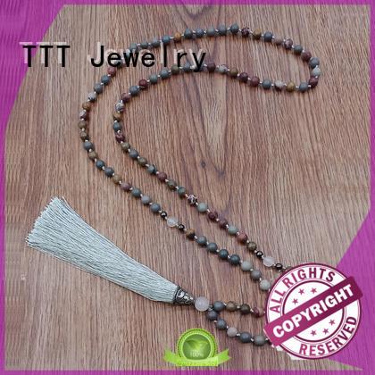 mm japa mala designer necklaces TTT Jewelry Brand company
