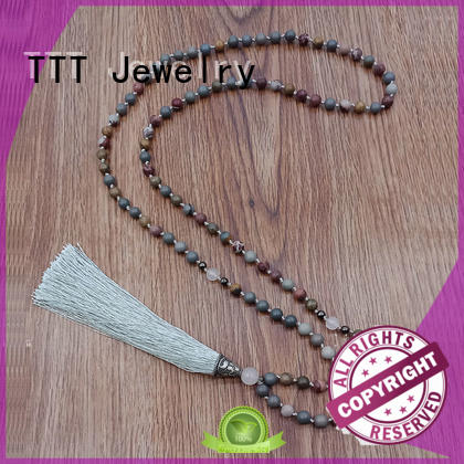 mm japa mala designer necklaces TTT Jewelry Brand company