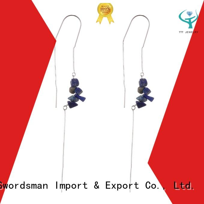 eco-friendly cheap stone earrings stone manufacturer for trader