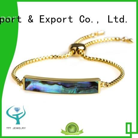 TTT Jewelry silver bracelet for women trade partner for gift