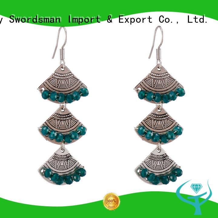 reliable crystal earrings hoops dangle trade partner for dealer