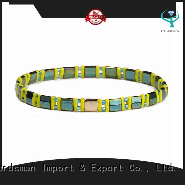 TTT Jewelry customized beaded wrap bracelet awarded supplier for gift