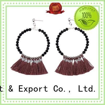 handmade earrings beaded OEM tassel earrings TTT Jewelry