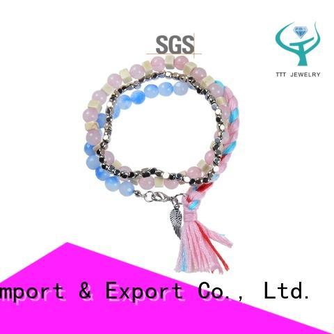 eco-friendly bracelet stone export worldwide for trader